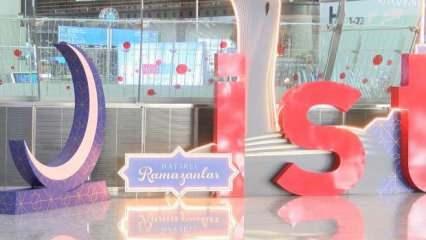 İstanbul Havalimanı'nda Ramazan coşkusu!