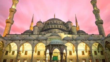 İstanbul'un en güzel ve en önemli camileri! Tarihi öneme sahip camiler...