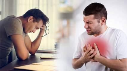 Kalbin en büyük düşmanı: Fazla kilo, stres, tuz...