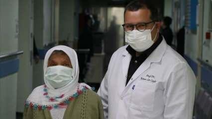 Koronavirüs yüzünden 80 gün yoğun bakımda kaldı, ameliyat oldu!