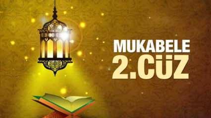 Mukabele 2. Cüz - 2021 Ramazan Ayı 2. Günü Mukabele İzle ve Dinle