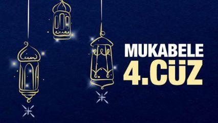 Mukabele 4. Cüz - 2021 Ramazan Ayı 4. Günü Mukabele İzle ve Dinle