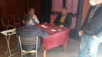 Osmaniye'de kumar baskını: 5 kişiye 25 bin lira ceza