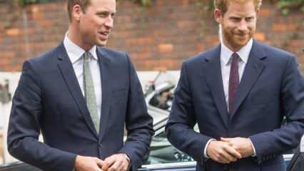 Cenazede yan yana gelen Prens Harry ve Prens William'ın ne konuştukları ortaya çıktı