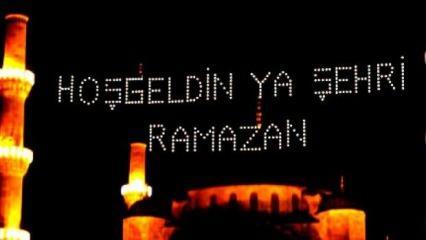 Ramazan mesajları! 2021 yılına özel dualı, hadisli, resimli Hoş geldin Ramazan tebrik mesajları!