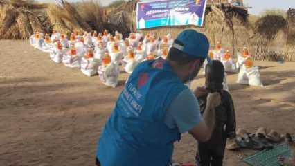 TDV, Çad'da Osmanlı torunlarına ramazan yardımı ulaştırdı