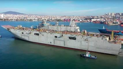 Türkiye'nin en büyük savaş gemisi olacak! Tarih verildi