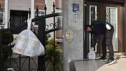 Tuzla'da karantinada olan vatandaşlara her gün 3 çeşit yemek!