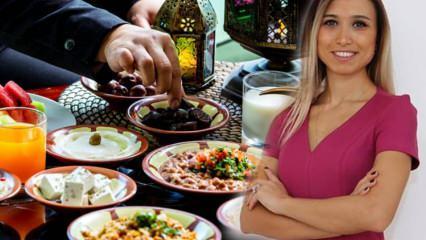 Uzman Diyetisyen Nilay Keçeci'den Ramazan ayını sağlıklı geçirme yolları