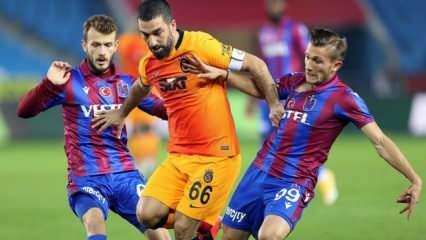 Galatasaray - Trabzonspor! Muhtemel 11'ler