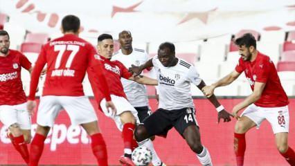 Aboubakar oyuna devam edemedi!