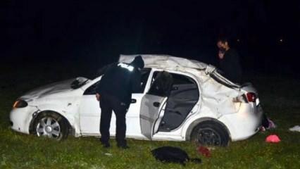 Antalya'da feci kaza: 1 ölü 4 yaralı