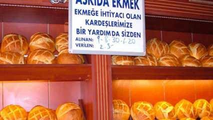 Askıda ekmek ne demek? Askıda ekmek ne zaman ortaya çıktı? İşte askıda ekmek projesi