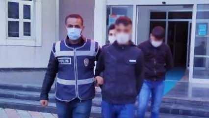 Diyarbakır'da 250 bin liralık altın hırsızlığı: 2 tutuklama