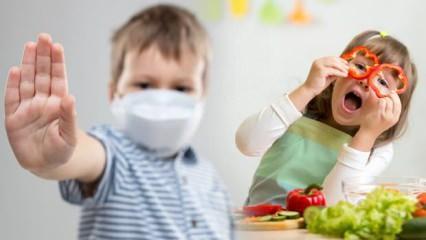 Doğru beslenmeyle çocukları koronavirüsten koruyun!