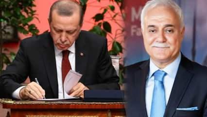 Erdoğan imzaladı: Nihat Hatipoğlu'na kritik görev! 2 bakanlığa ve Diyanet'e yeni atamalar
