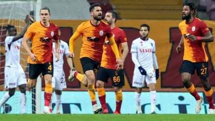 Galatasaray 4 eksikle Antalya yolcusu!
