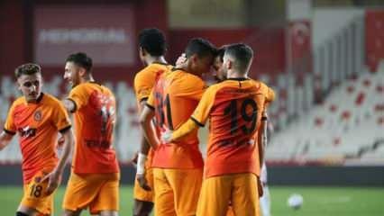 Galatasaray zirve takibini sürdürdü!