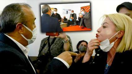 CHP Genel Merkezi'nden gelen talimatlara uymayanlar odalara kilitlendi