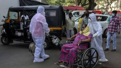 Hindistan'da korkunç rekor: Bir günde 314 bin vaka