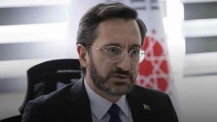 İletişim Başkanı Altun'dan HDP'nin 1915 olaylarına ilişkin açıklamasına tepki