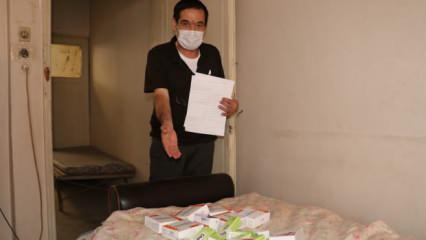 Kanser hastası adamın ilaçları 2 aydır başkalarına satılıyor!