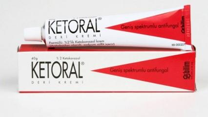 Ketoral krem nedir ve ne işe yarar? Ketoral deri kremi nasıl kullanılır?