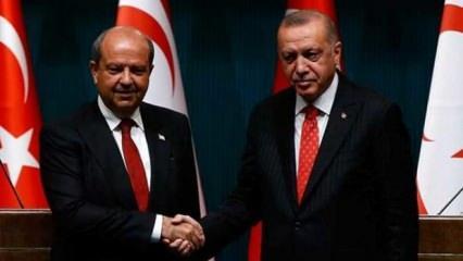 KKTC Cumhurbaşkanı Tatar, Ankara'da Cumhurbaşkanı Erdoğan'la görüşecek