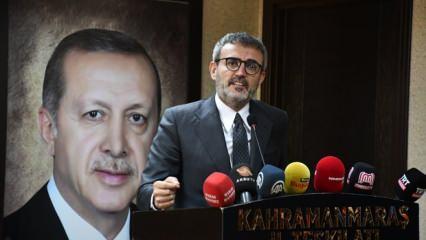 Mahir Ünal'dan CHP'li Altay'ın Başkan Erdoğan'a yönelik 'Menderes benzetmesi'ne tepki