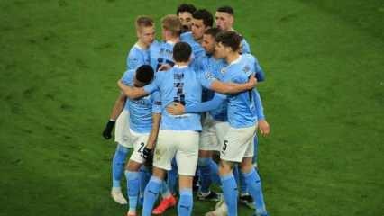 Manchester City, Avrupa Süper Ligi'nden çekildi!