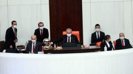 Meclis Başkanı Şentop'tan önemli açıklamalar