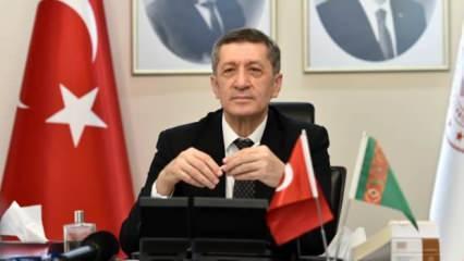 Milli Eğitim Bakanı Ziya Selçuk'tan yüz yüze sınav açıklaması
