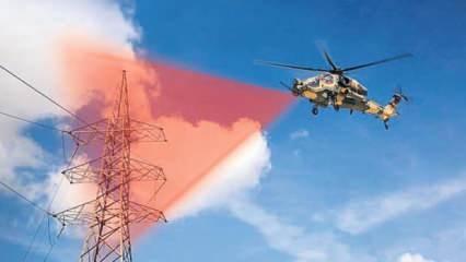 Milli helikopter lazerle görecek
