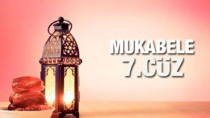 Mukabele 7. Cüz - 2021 Ramazan Ayı 7 Günü Mukabele İzle ve Dinle