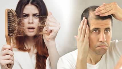 Saç dökülmesi neden olur? Saç dökülmesine iyi gelen besinler