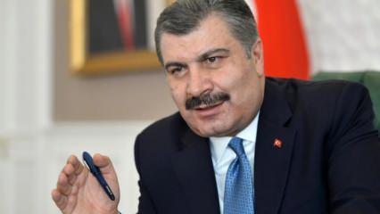 Sağlık Bakanı Koca'dan son dakika açıklamalar