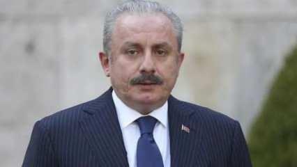 TBMM Başkanı Şentop  KKTC Cumhurbaşkanı Tatar'a başsağlığı diledi