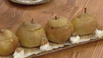 Tencerede armut tatlısı nasıl yapılır? Cevizli armut tatlısı tarifi...