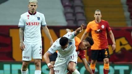 Trabzonspor'dan beraberlik serisi! 5 oldu...