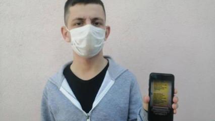 Sahte maske cezası mesajıyla 300 bin TL'lik vurgun