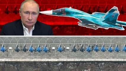 Putin'den tehdit gibi açıklama! Füzeler ateşlendi, savaş uçakları emir bekliyor