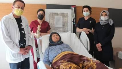 10 binde 3 kişide görülen hastalığından ameliyatla kurtuldu!