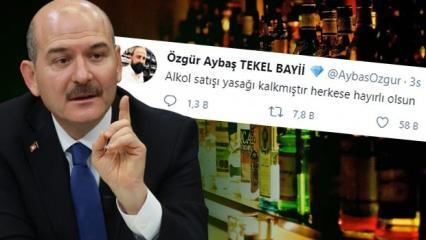 'Alkol yasağı kalktı' iddiası! İçişleri Bakanlığı ve Bakan Soylu'dan açıklama