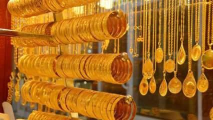 28 Nisan Altın fiyatları düşüyor! Gram altın Çeyrek altın Bilezik alış satış fiyatı