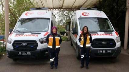 Bakan bir daha bakıyor! Bu kadınlar hayat kurtarmak için direksiyon sallıyor