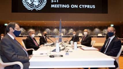 Cenevre'de 5+1 gayriresmi Kıbrıs konferansının ikinci oturumu başladı
