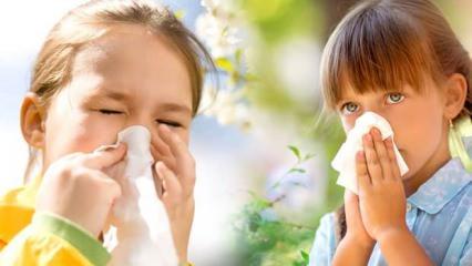 Çocuklarda bahar alerjisine dikkat!