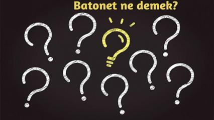 Batonet (Batonette) nedir ve ne demektir? Yemekte batonet doğrama tekniği nasıl yapılır?