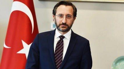 İletişim Başkanı Altun'dan 1 Mayıs mesajı