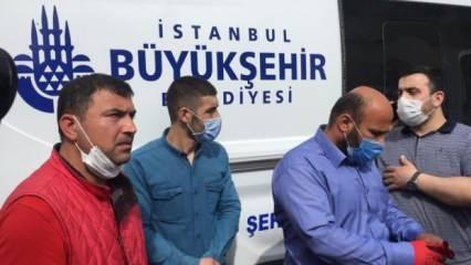 İstanbul'da cenazeler karıştı, defin işlemi yarım kaldı